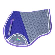 Quilted Dry-Tech Numnah Shaped (1)